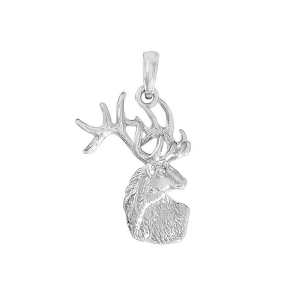 925 Sterling Silver Deer Charm